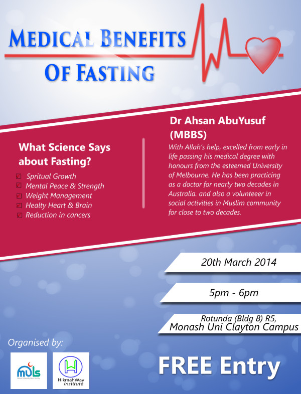 Medical Benefit of Fasting