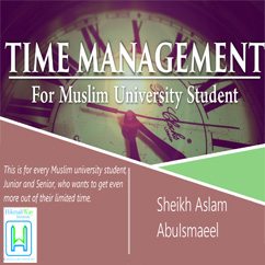 Time Management for Muslim University Student FREE