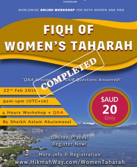 Fiqh-wOMAN-tAHARAH completed