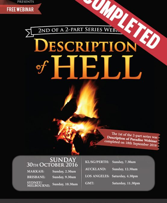 [ENDED] Description of Hell