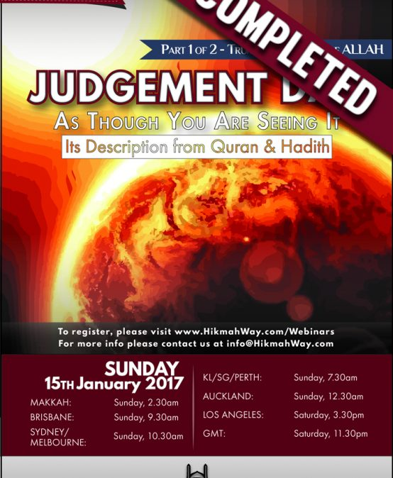 Judgement Day – Trumpet & Majesty of Allah