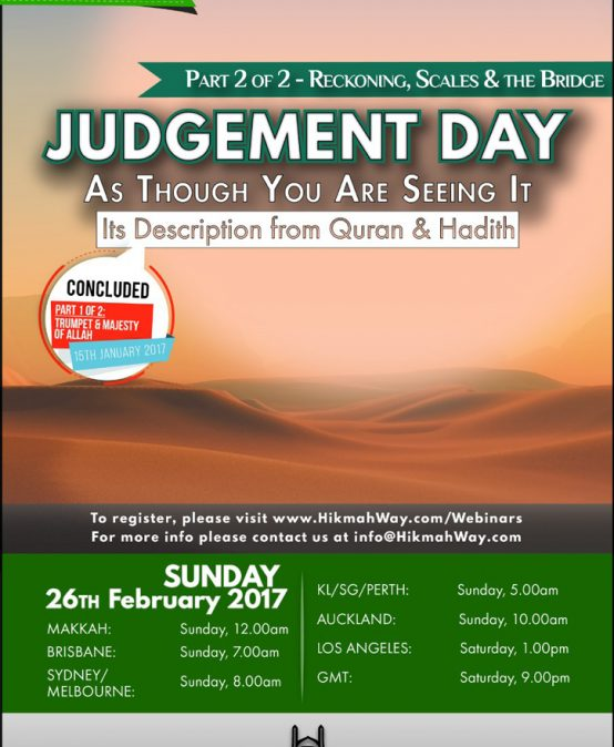 Judgement Day – Reckoning, Scales & The Bridge