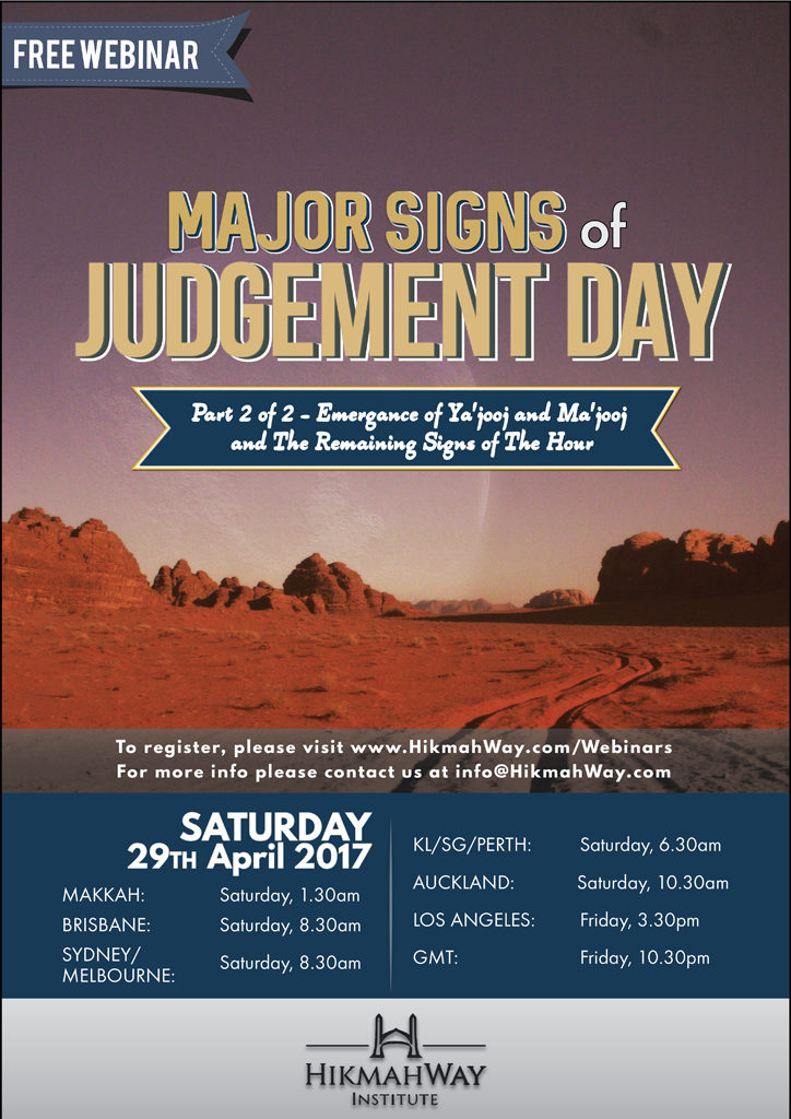 [Ended] Major Signs of Judgement Day Part-2